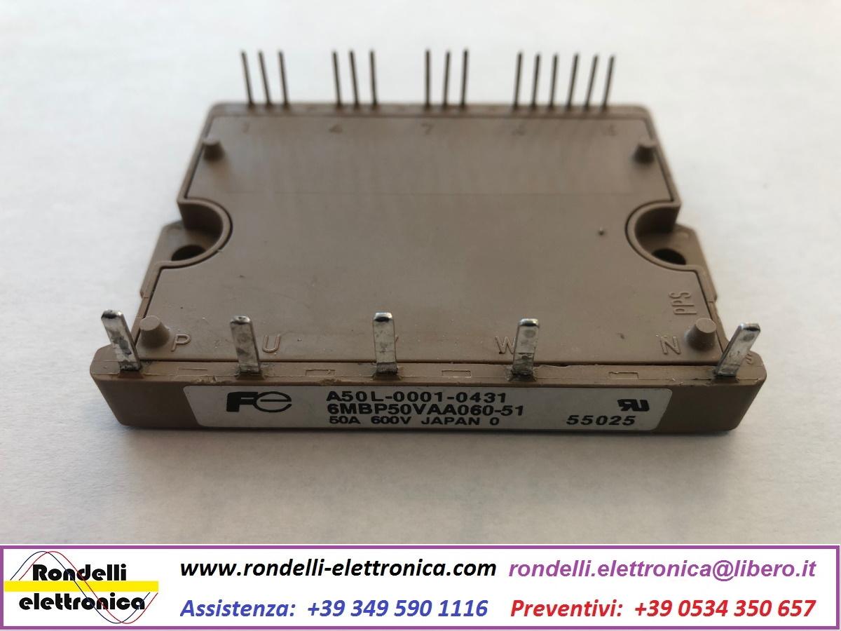 FUJI ELECTRIC 6MBP50VAA060-51   A50L-0001-0431 NEW